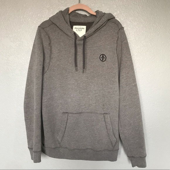Abercrombie & Fitch Other - EUC Abercrombie & Fitch Grey Pullover Hood Sweater